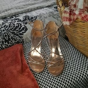 Rose Gold SM heels